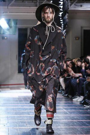 Yohji Yamamoto #menswear #fall2014 #paris #fashion