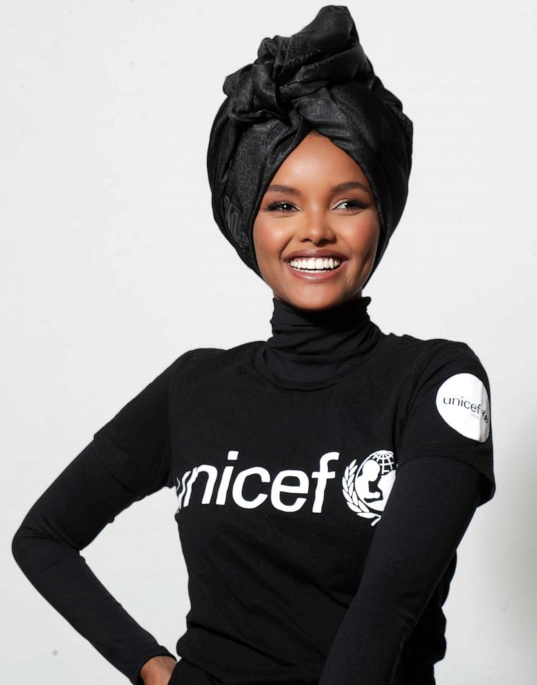 Model makes history as first to wear a burkini in Sports