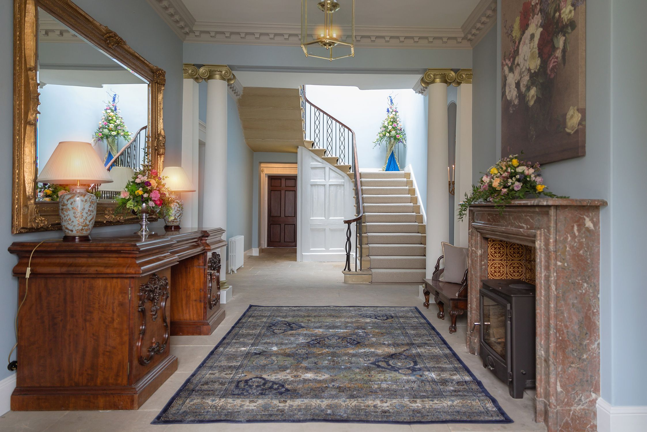Garthmyl Hall Powys Wedding Venue Entrance Hall Garthmyl  # Muebles Sisal Queretaro