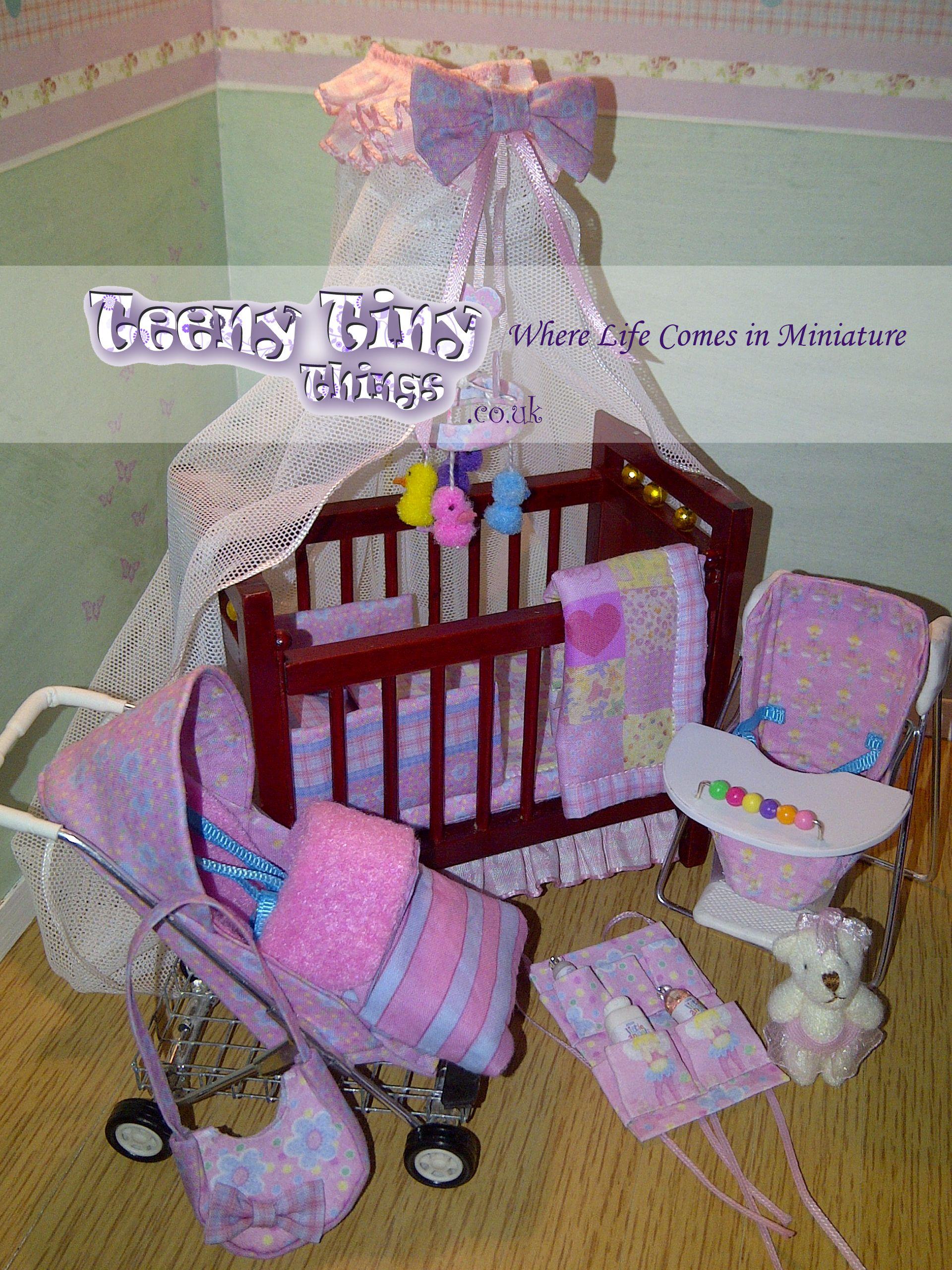 Bespoke dolls house miniatures on sale here TeenyTinyThings.co.uk