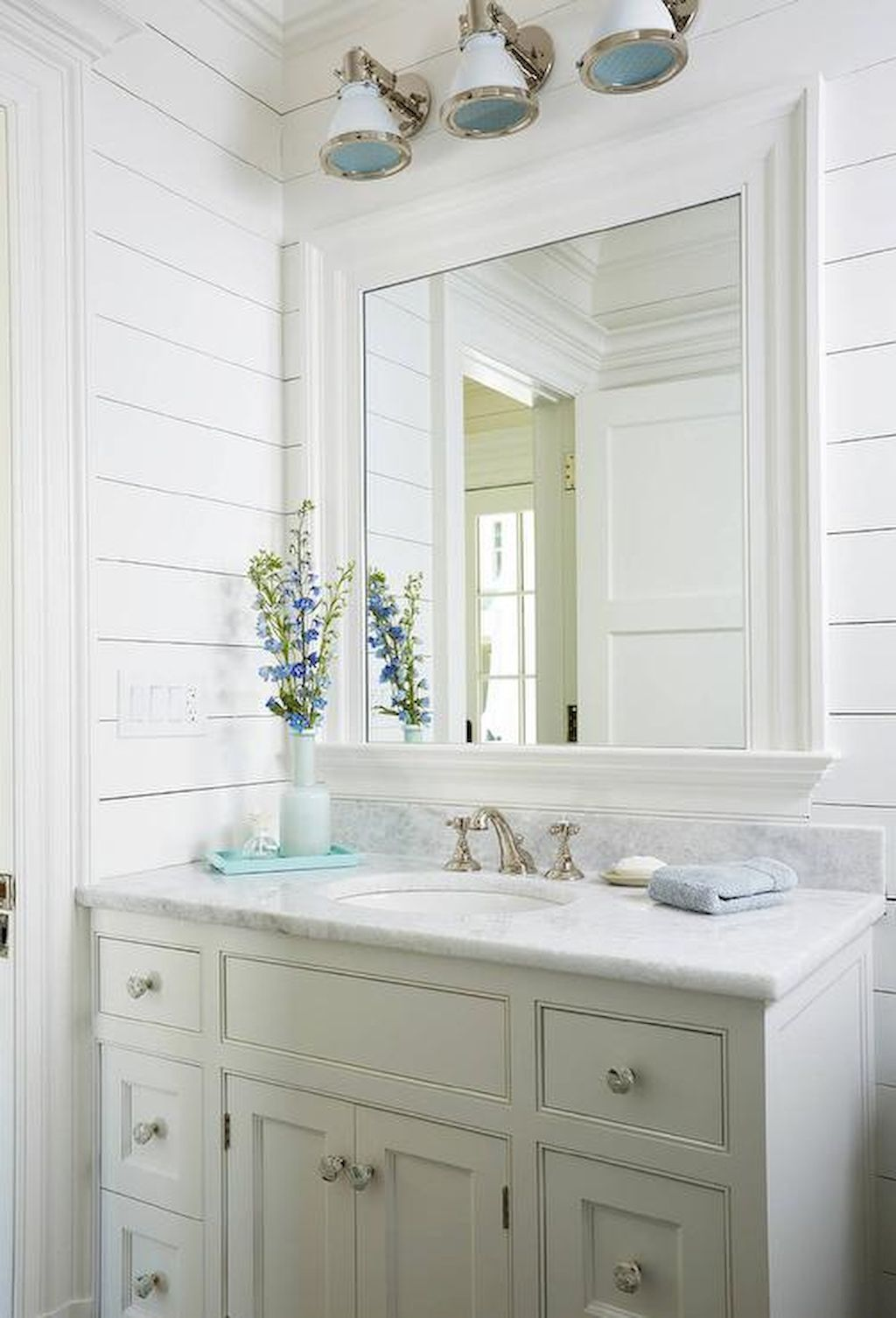 Best inspire coastal nautical bathroom design & decor ideas (68 ...
