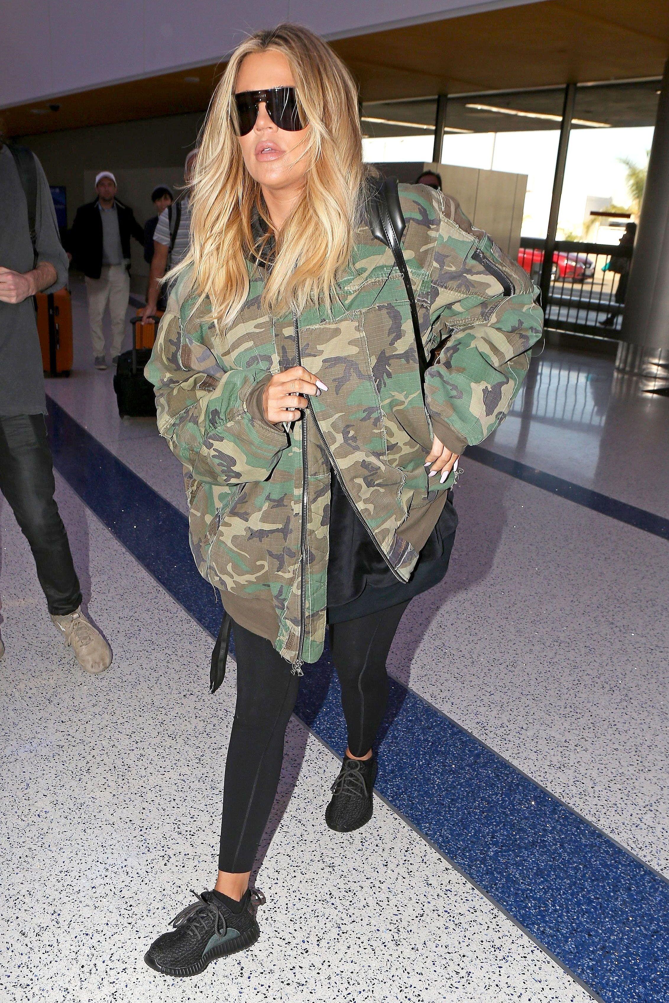 These Women S Bomber Jackets Are Celebrity Approved Kardashian Style Outfits Khloe Kardashian Style Bomber Jacket Women [ 3394 x 2263 Pixel ]