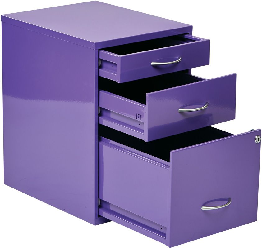 Purple File Cabinet Purple Office Purple Furniture Purple Home