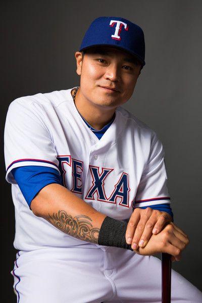 Shin Soo Choo Texas Rangers Baseball Texas Rangers