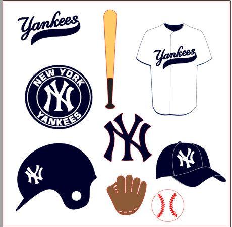 Yankees Baseball Svg Baseball Svg Yankees Baseball Yankees