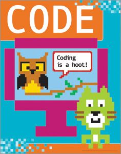 Coding is a hoot poster posters products for children ala coding is a hoot poster posters products for children ala store fandeluxe Gallery