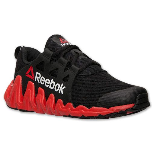 Reebok Running Shoes Boys Zigtech Big 'N Fast red/black