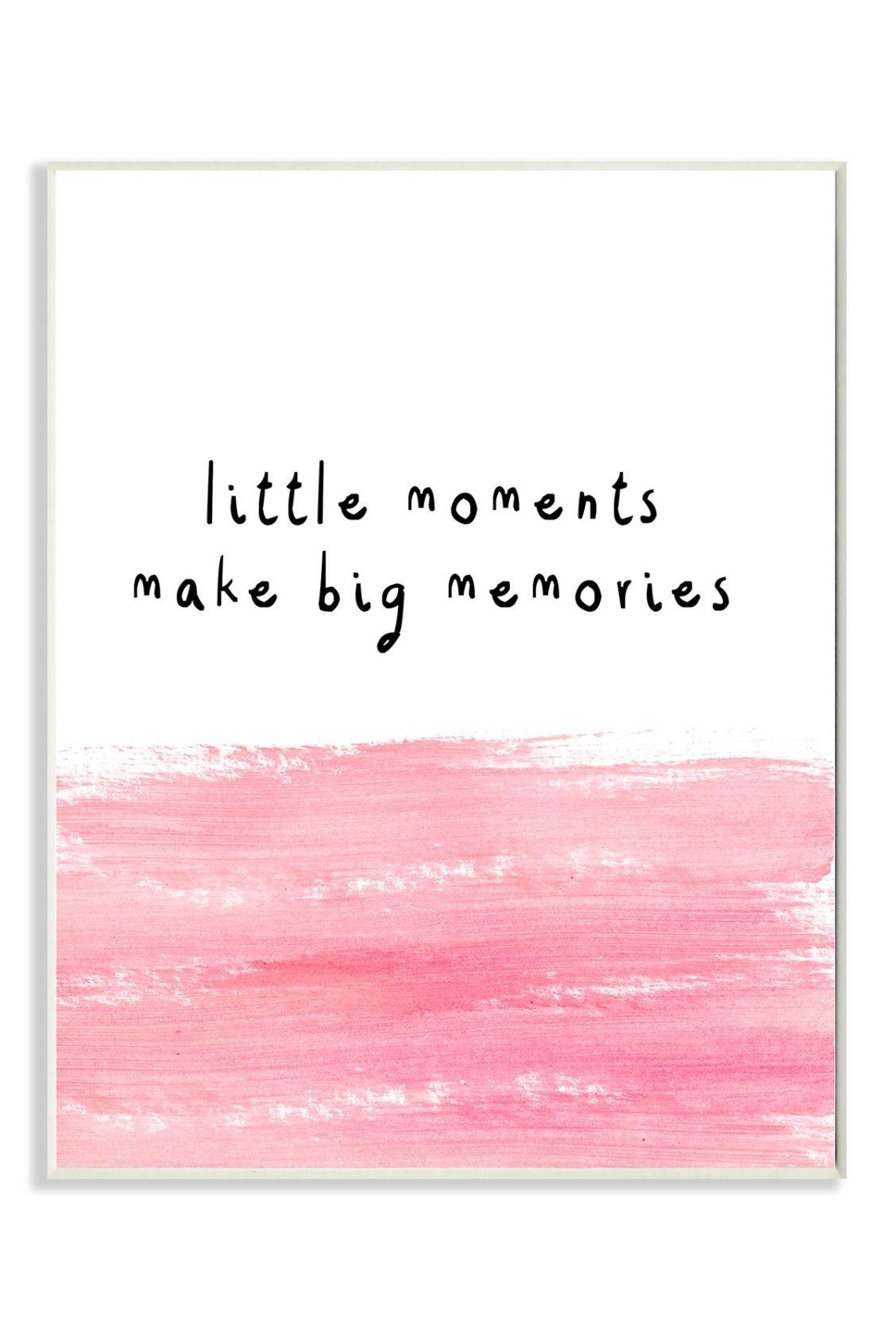 Little Moments Make Big Memories Big Little Quotes Sorority Big Little Big Little Canvas