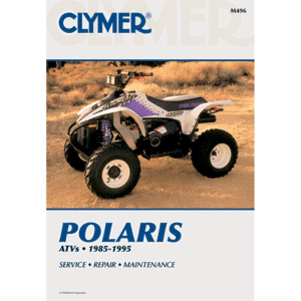 Clymer Service & Repair Manual for Polaris ATV Models