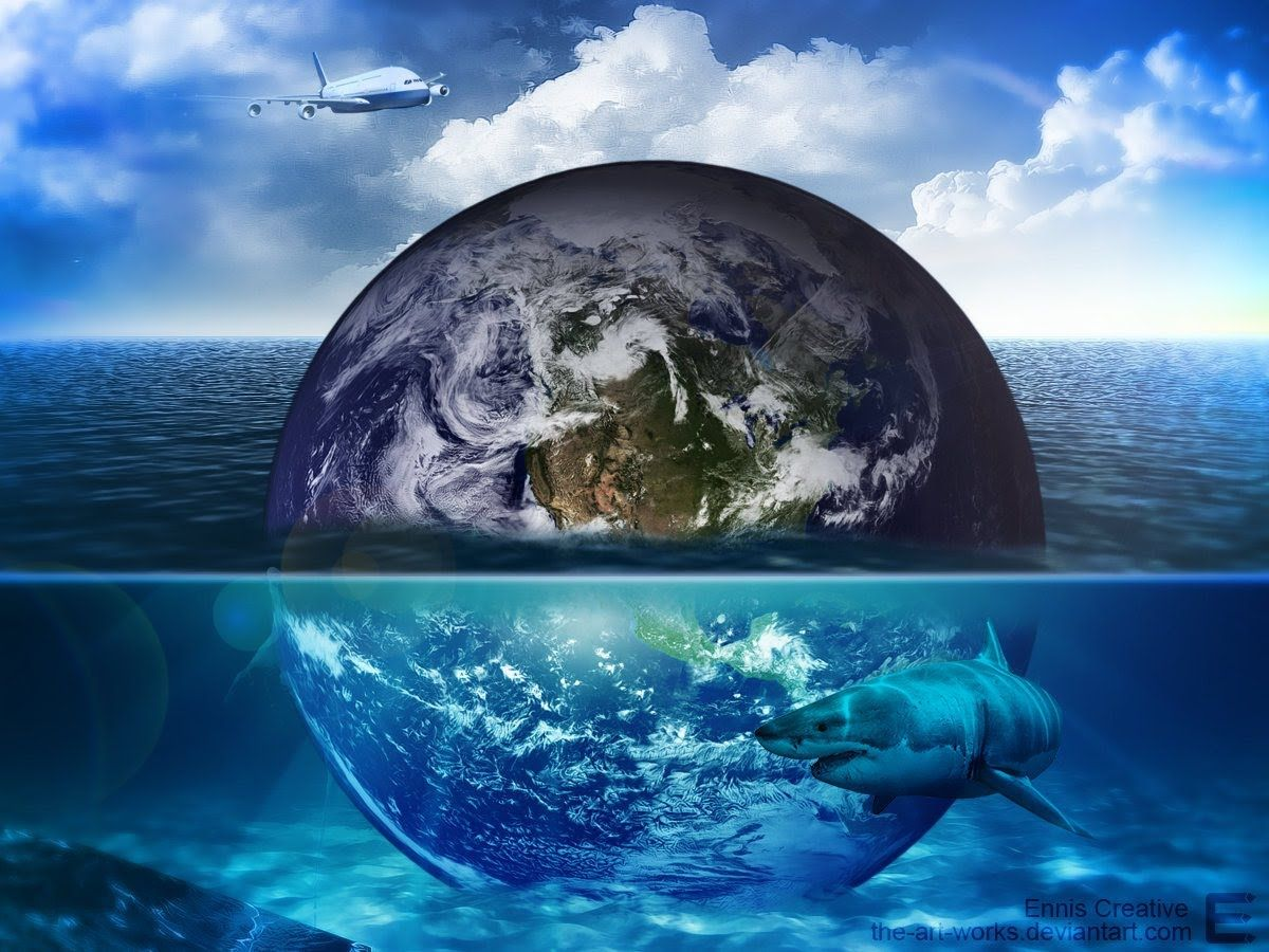 Hd Earth Under Water In Next 20 Years