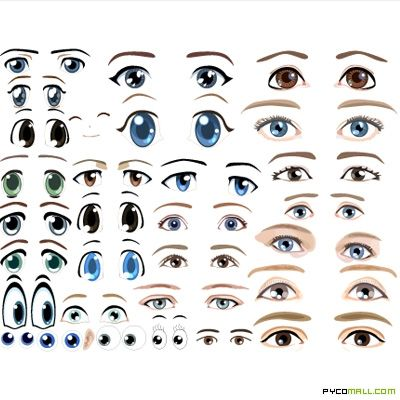 Cartoon eyes from pycomall smartboardipad pinterest cartoon cartoon eyes from pycomall pronofoot35fo Image collections