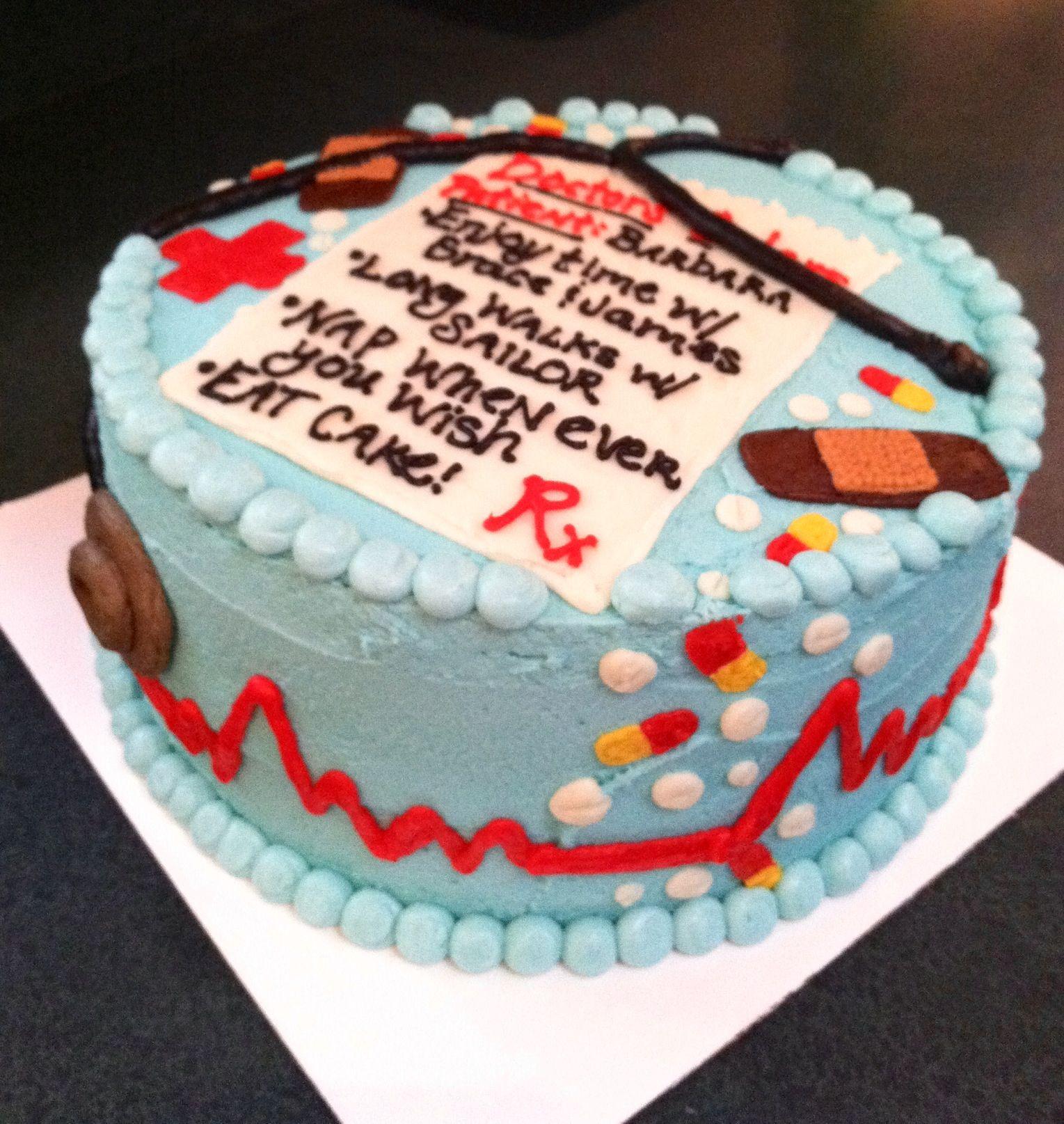 Nurse Retirement Cake | Retirement cakes, Cake, Cake ...