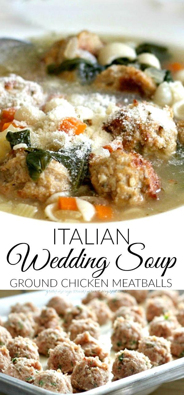 Ina Garten S Italian Wedding Soup Italian Wedding Soup Wedding Soup Italian Wedding Soup Recipe