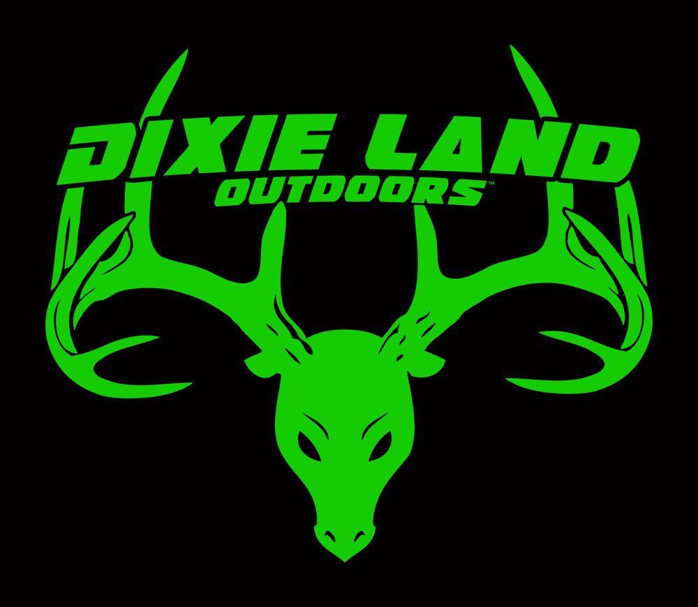 Dixie Land Outdoors Buck Skull Logo T shirt  compound bow archery bowhunter