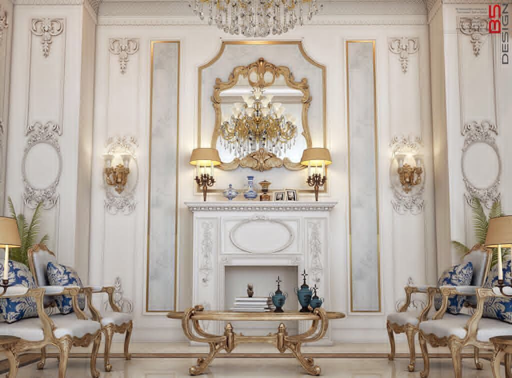 Family Sitting Dining Area Design For A Private Villa At Doha Qatar تصميم صالة معيشة و طعام عائلى بفيلا خاصة بالدوحة قطر De Luxury Homes Family House Design