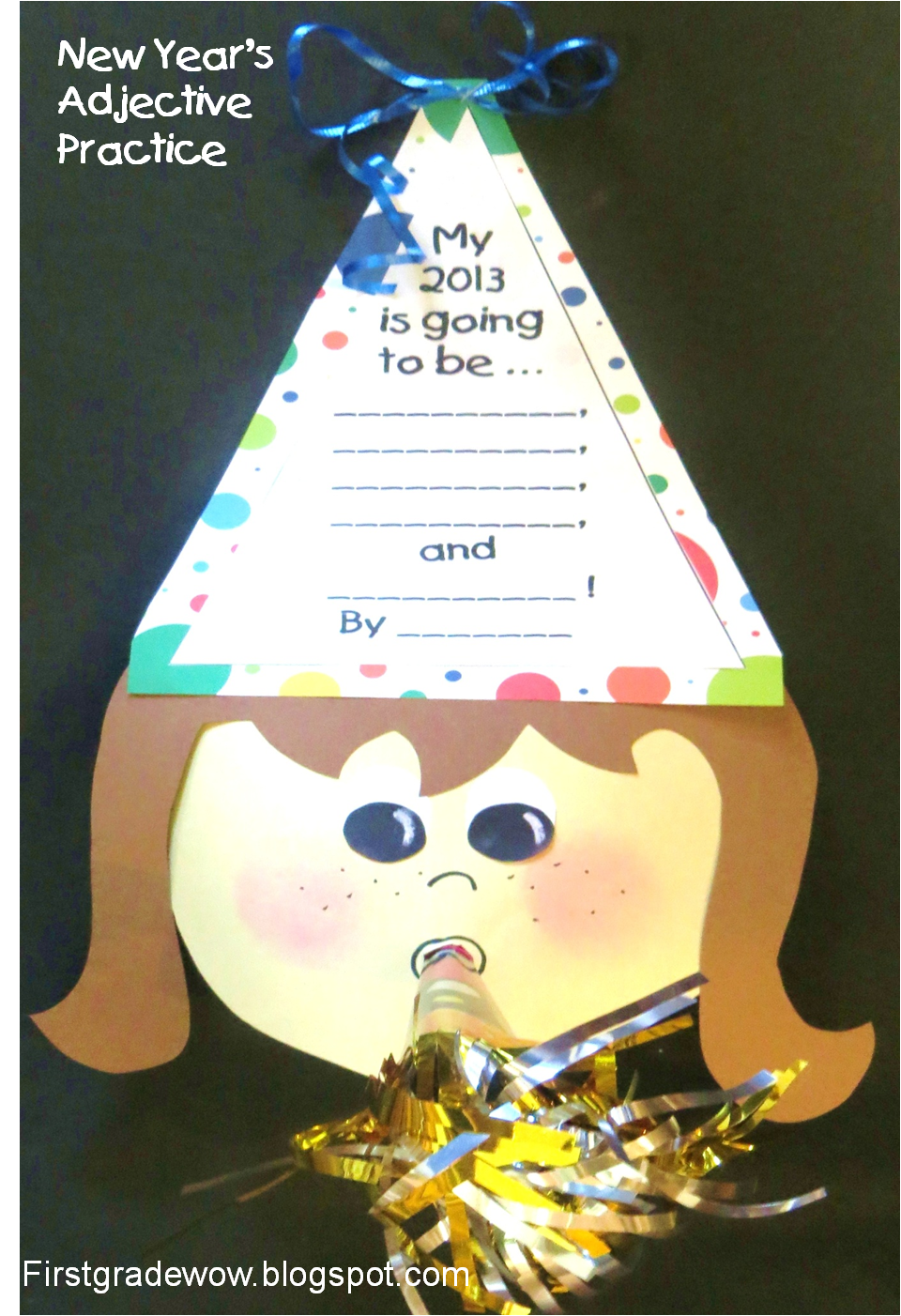 First Grade Wow: Happy New Year! (a little early:)) | Christmas classroom, Winter crafts for ...
