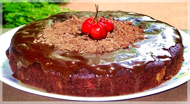 Photo of Cherry Chocolate Cake