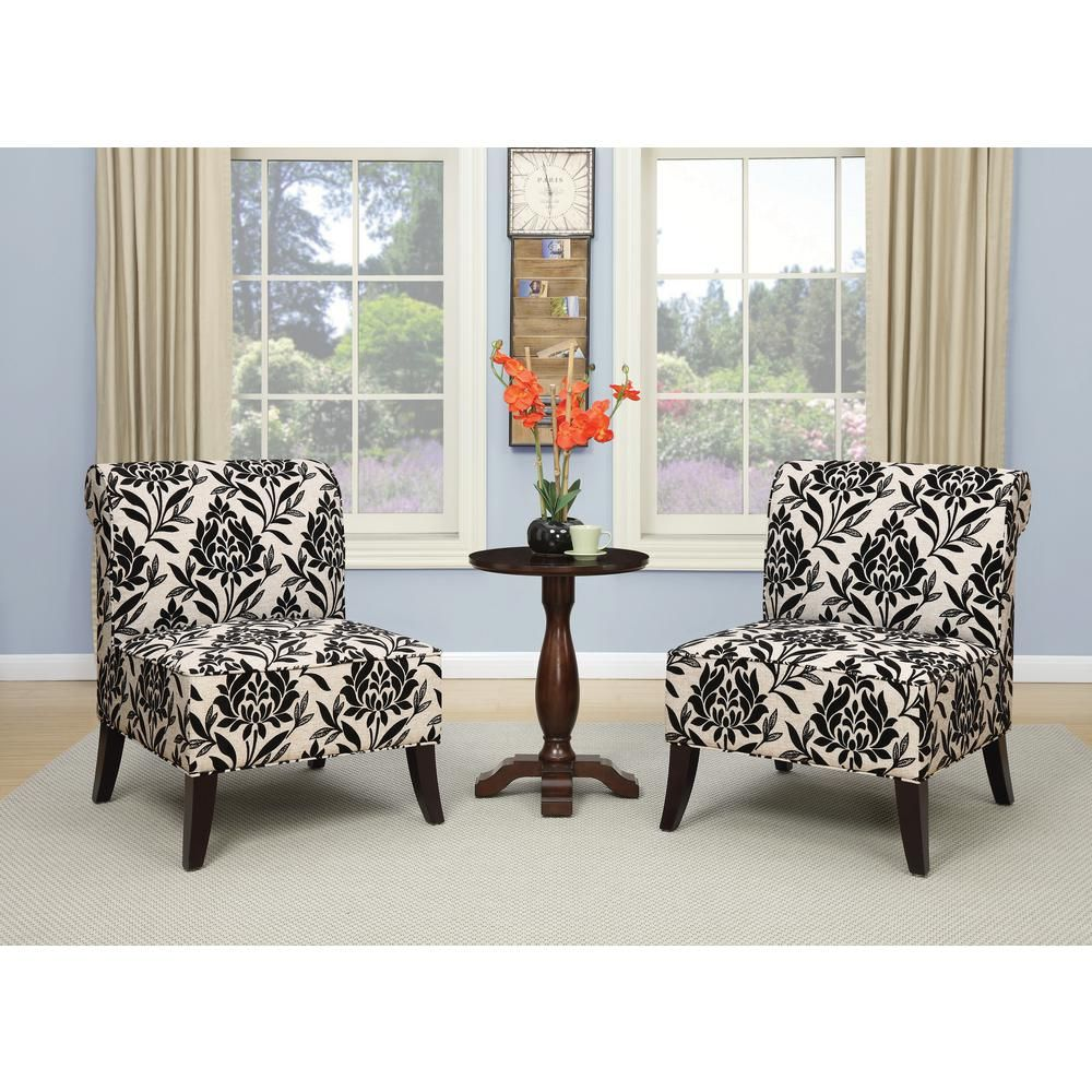 Ave Six Naomi Paradise Chair Sb512 P3 Accent Chairs