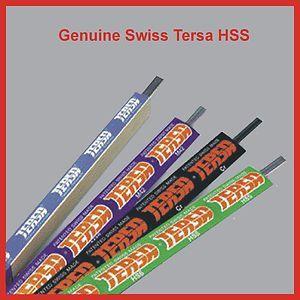 Inc Vat TERSA HSS Genuine Swiss T1 18/% Tungsten Select your size.