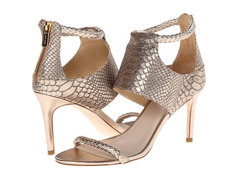 Womens Shoes Cole Haan Lise Sandal Champagne Snake Print