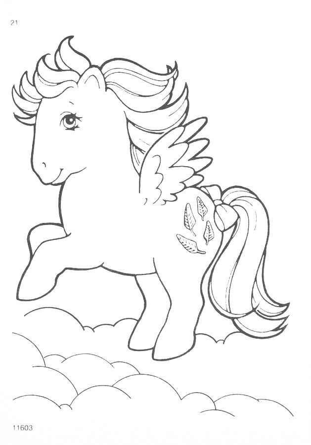My Little Pony G1 Coloring Pages A Photo On Flickriver My Little Pony Coloring Unicorn Coloring Pages Horse Coloring Pages