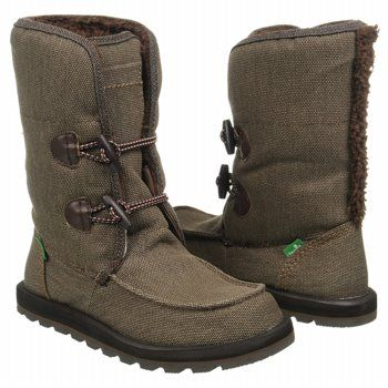 Sanuk Flurry Boots (Brown) - Women's Boots - 7.0 M
