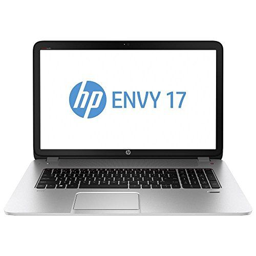 "HP Envy 17T Notebook 17.3"" Core i7-4710HQ 2.5GHz 16GB Ram, 2TB Dual Hard Drive, BluRay Writer, WiFi, Backlit Keyboard, W8.1 - The ENVY 17 17.3″ Notebook Computer from Hewlett Packard has a glass fiber chassis, complete with silky soft-touch paint in a natural silver finish. The island-style keyboard features a numeric keypad and comfortable typing. The HP Control Zone supports multi-touch gestures, which makes... - http://ehowsuperstore.com/bestbrandsales/laptop/hp-envy"