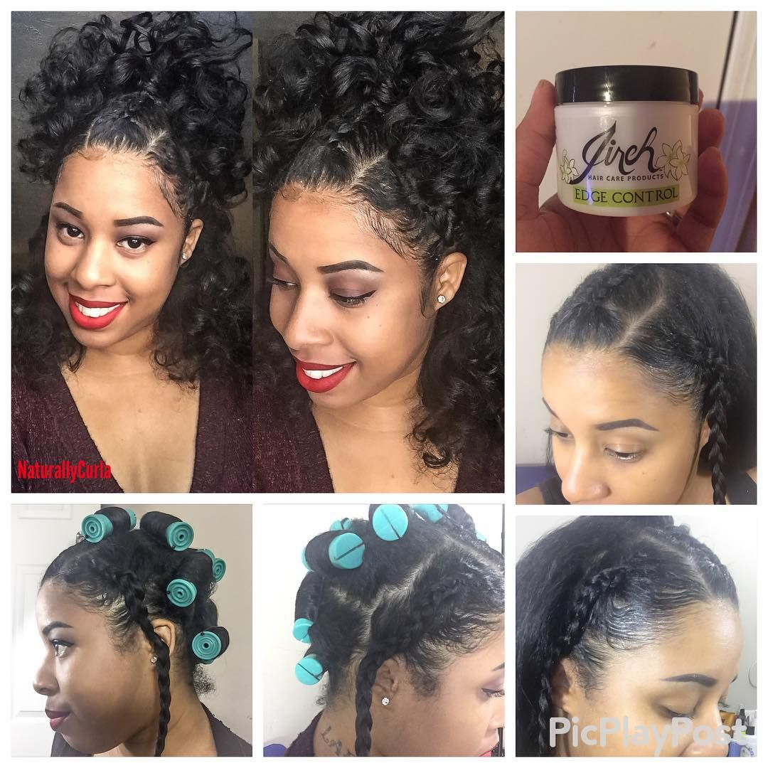 Hello loves! I achieved this style on my straight hair. Just braid the sides and middle part ...