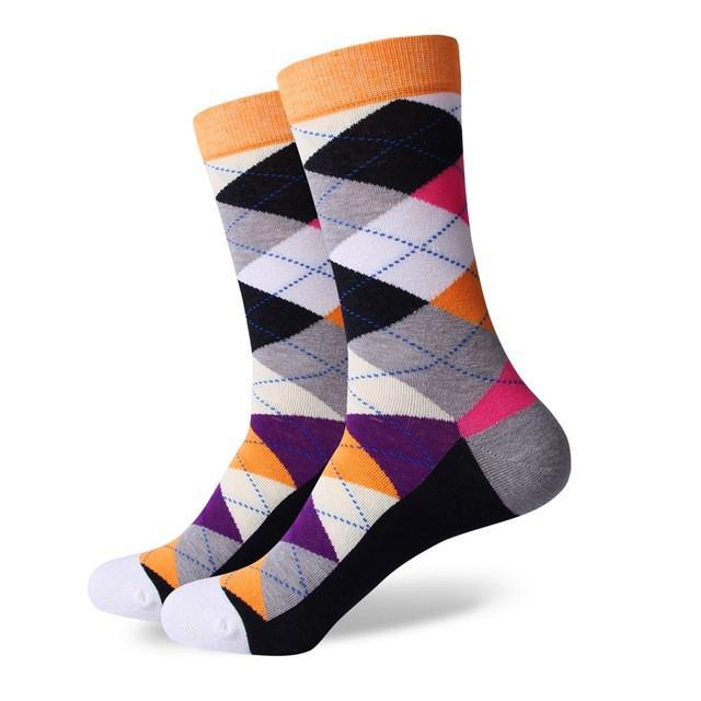 Match-Up ARGYLE SOCK men\'s combed cotton socks brand man dress knit ...