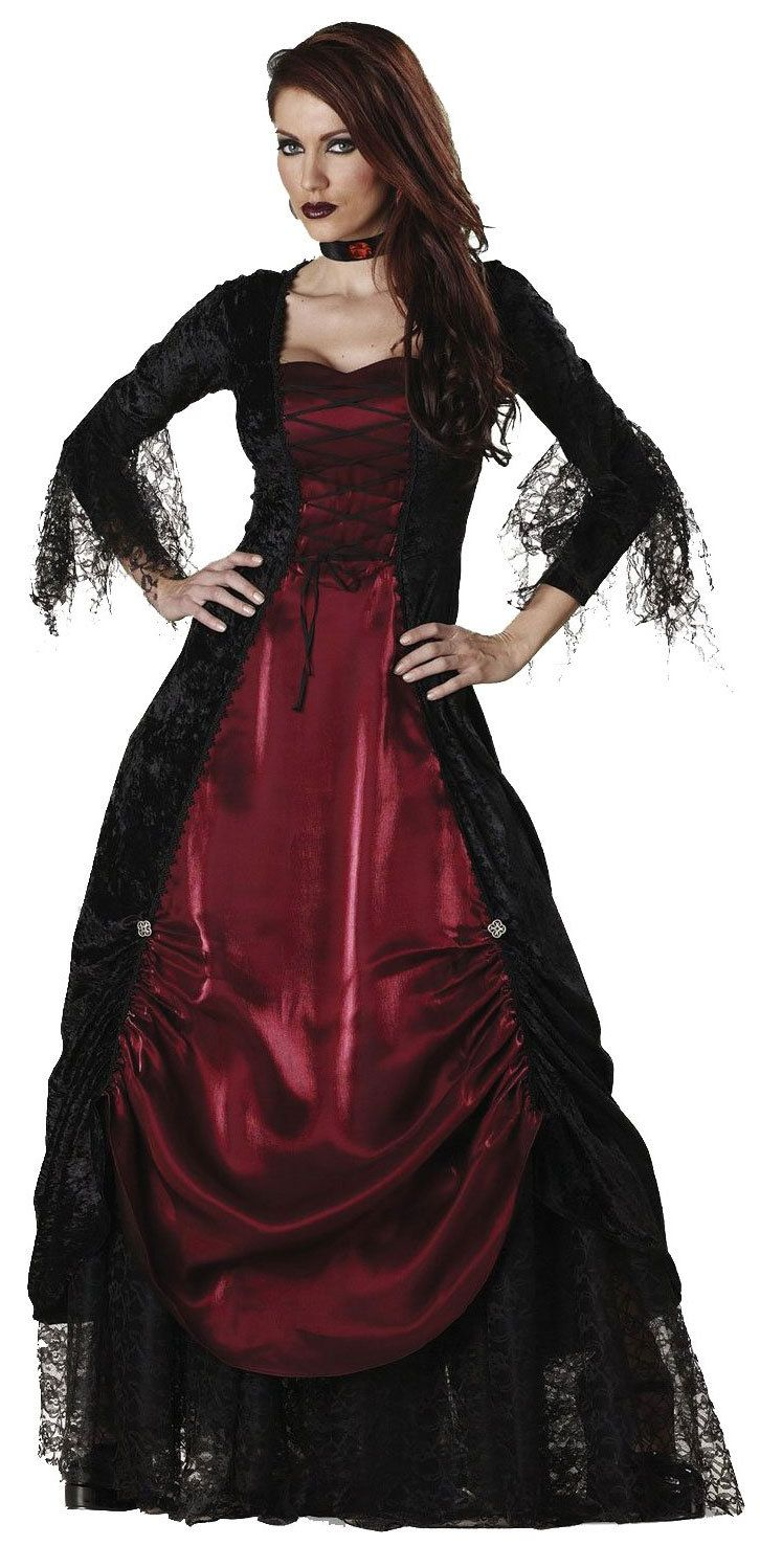 Gothic vampire costume for women  Halloween  e7af234654