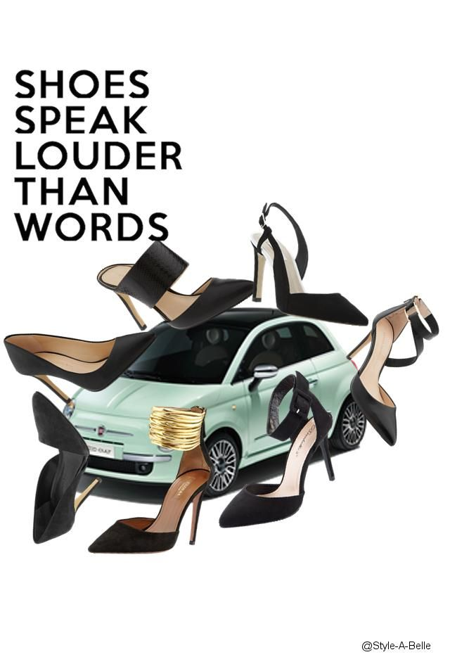 Pump My Ride!! #fashion #collage www.styleabelle.com