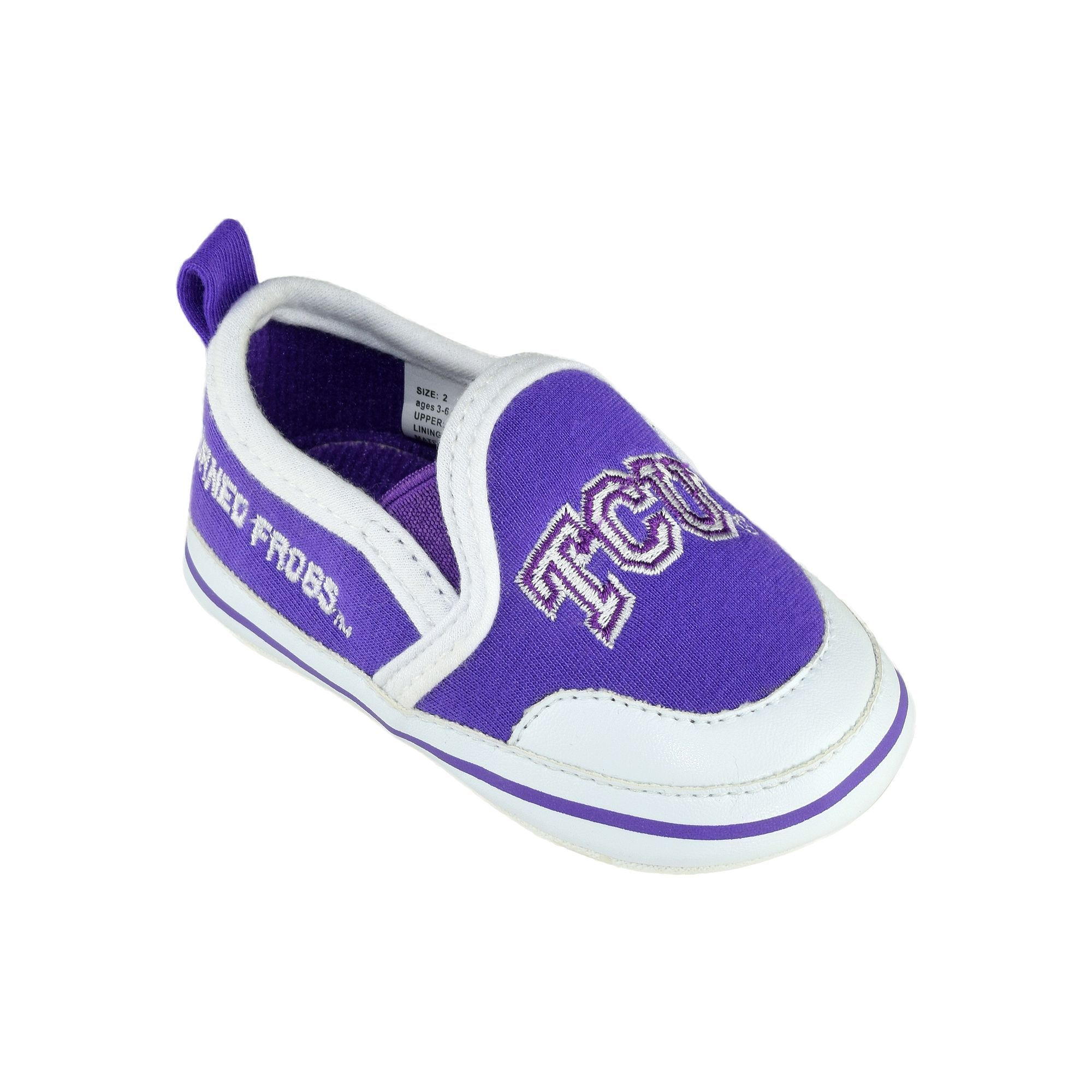 Kohl s Baby TCU Horned Frogs Crib Shoes
