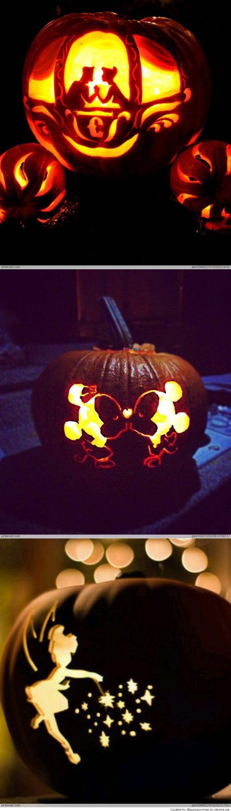 Disney Pumpkin Carving Ideas   Halloween!!!!!!   Pinterest   Disney ...