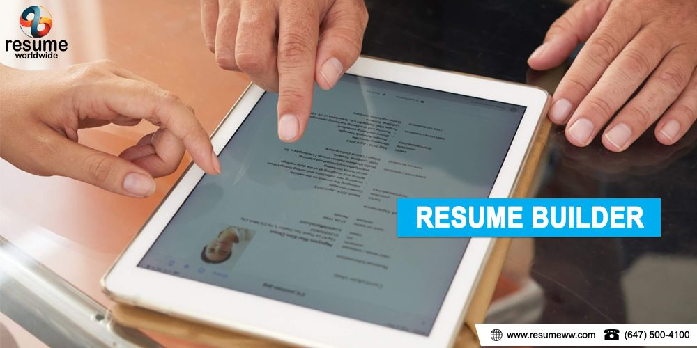 Resume Builder More effective resume builder services in