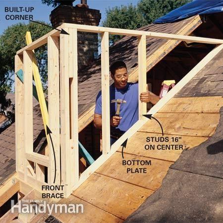 How To Frame A Gabled Dormer Dormers Framing Construction Dormer Roof