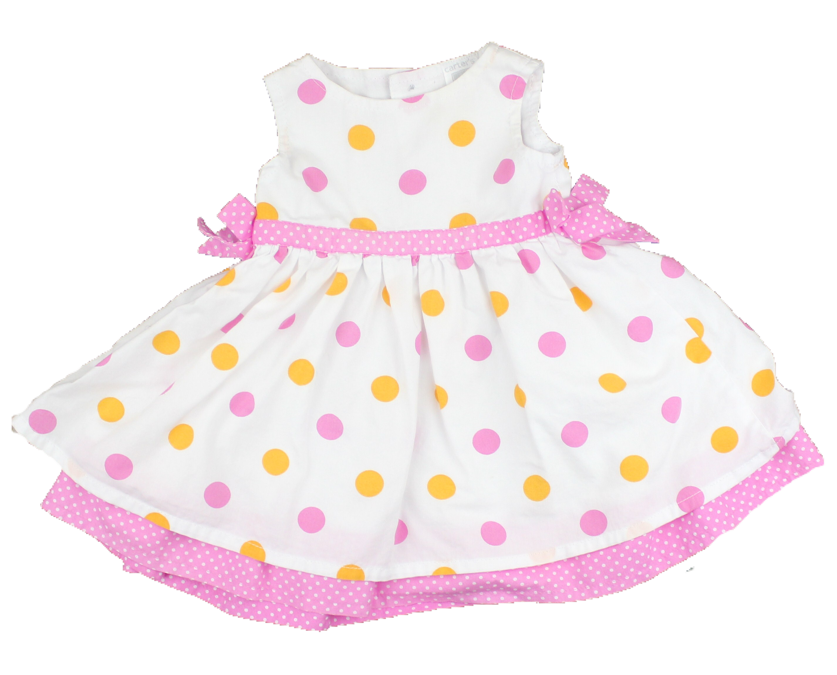 Newborn Baby Girl Sleeveless Summer Dress. Only $7 at May Bug