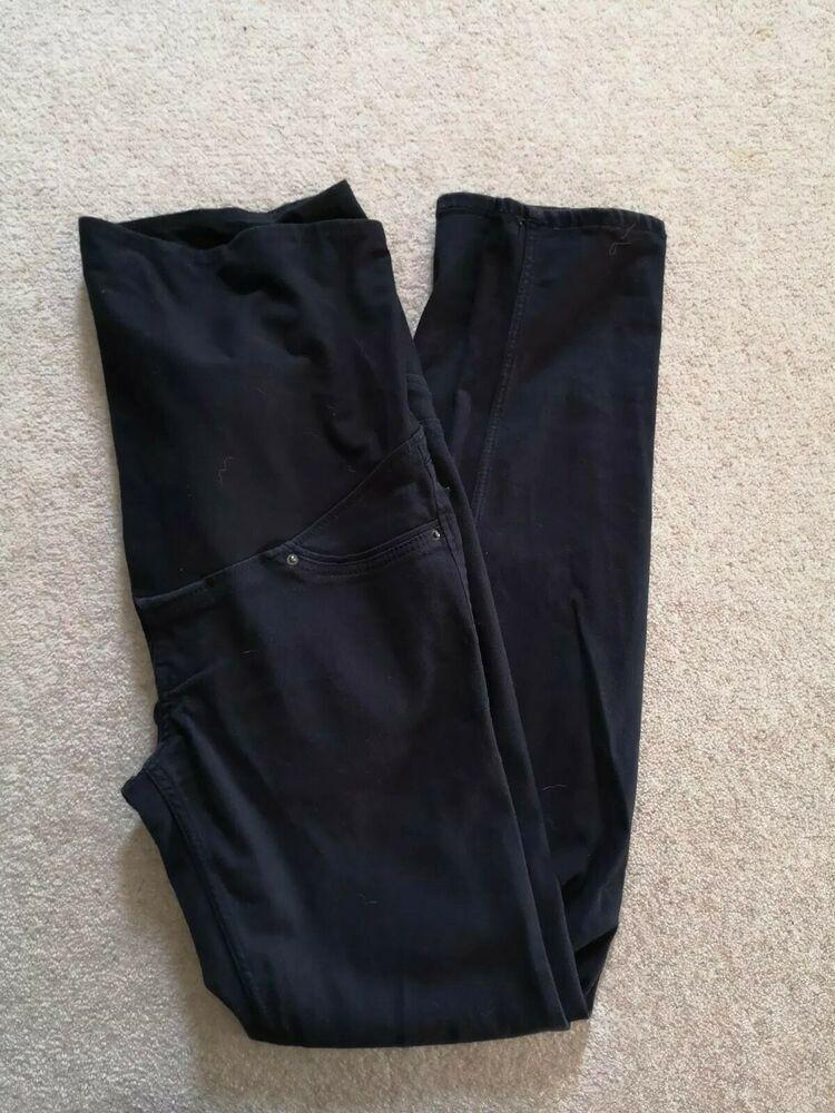 9dc4defc7f5bf H&M Mama Maternity Black Skinny Jeans Size EUR 40 #fashion #clothing #