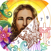 Bible Coloring Paint By Number 1 2 9 1 Apk Mod Obb Android Download Bible Coloring Bible Artwork Painting