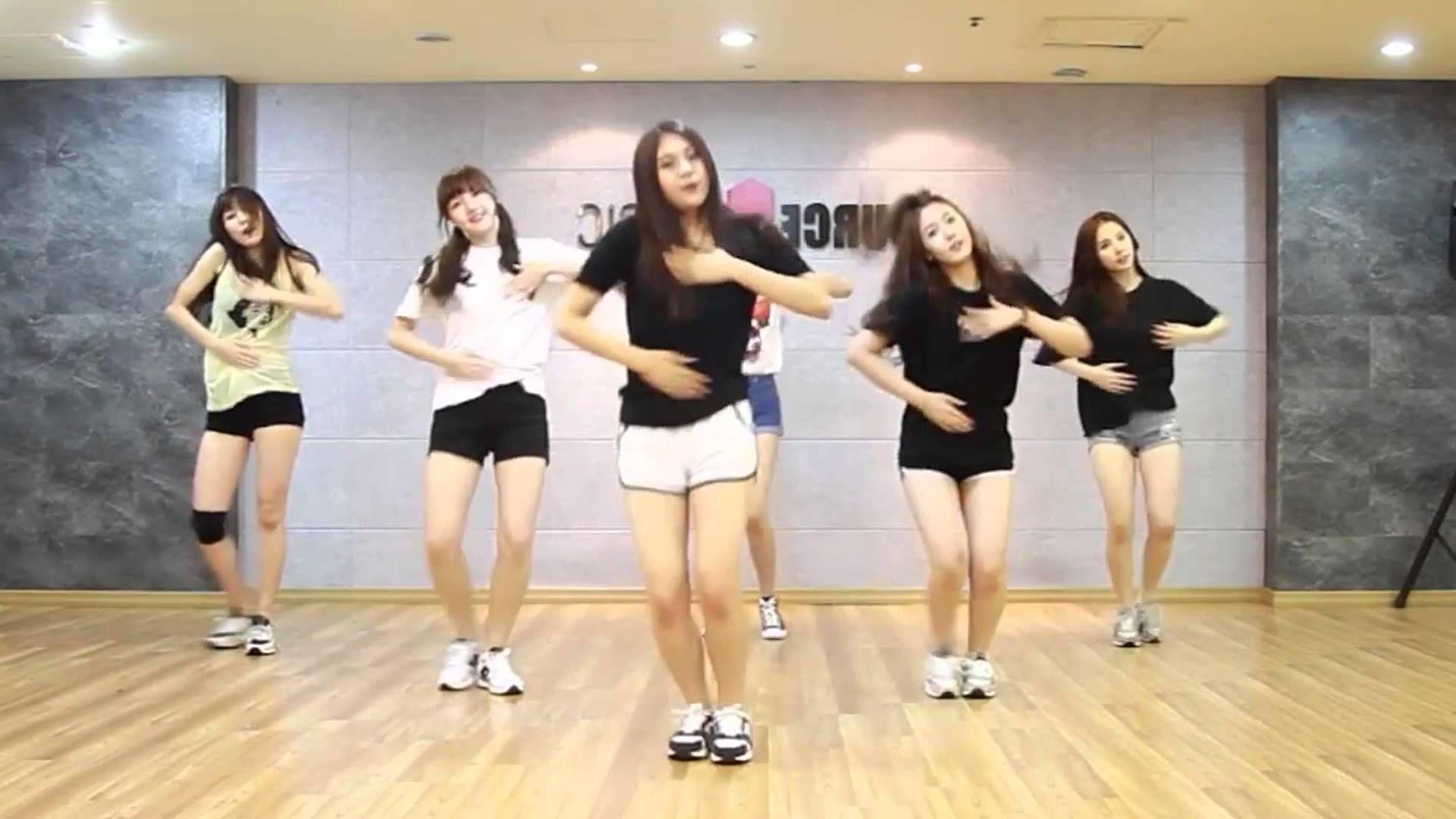 GFRIEND - Me gustas tu - mirrored dance practice video
