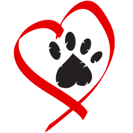 Red dog paw logo - photo#50