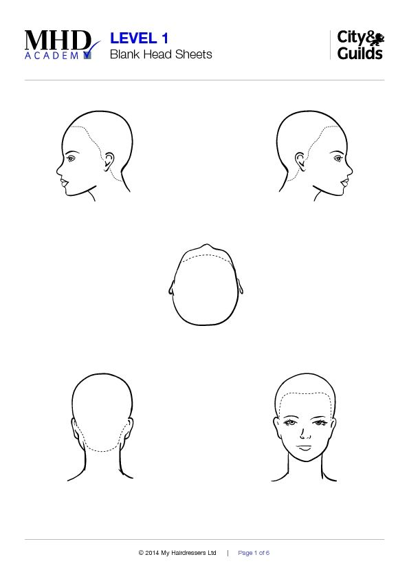 vrq 1 blank head sheet