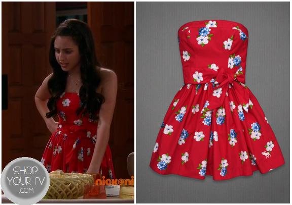 See Dad Run Season 1 Episode 6 Emily S Red Strapless Dress
