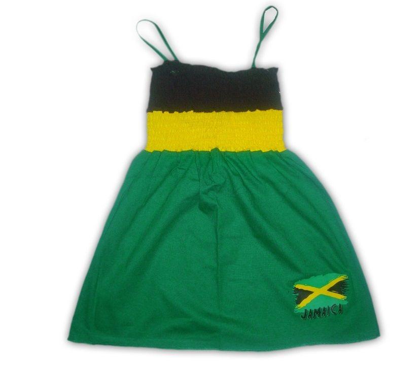 Kids tube top dress jamaica flag colors crochet pinterest kids tube top dress jamaica flag colors voltagebd Gallery