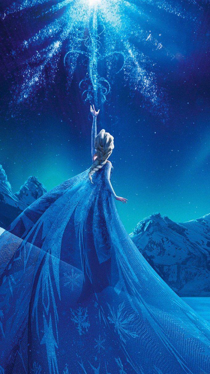アナと雪の女王 Frozen 04 無料高画質iphone壁紙 エルサ イラスト