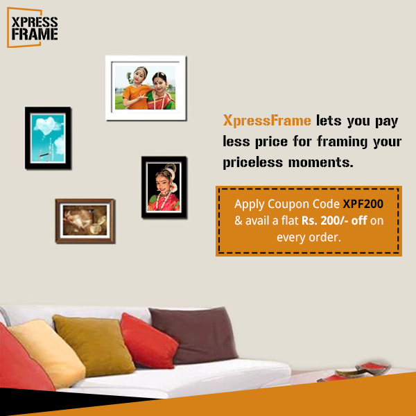 XpressFrame lets you pay less price for framing your priceless ...