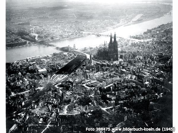Nach Dem Zweiten Weltkrieg Wurde Koln Und Die Innenstadt 90 Zerstort Bilder Kriegerin Erster Weltkrieg