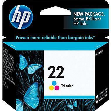 Hp 22 Color Combination Ink Cartridge Standard C9352an 140
