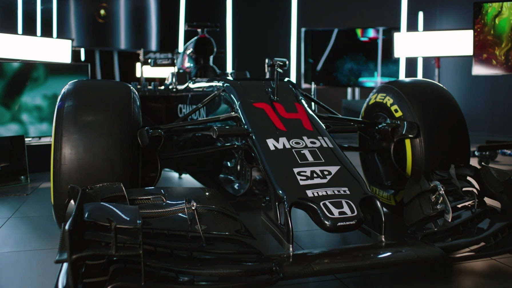 Mclaren Honda Mp4 31 Reveal Film Formula 1 F1