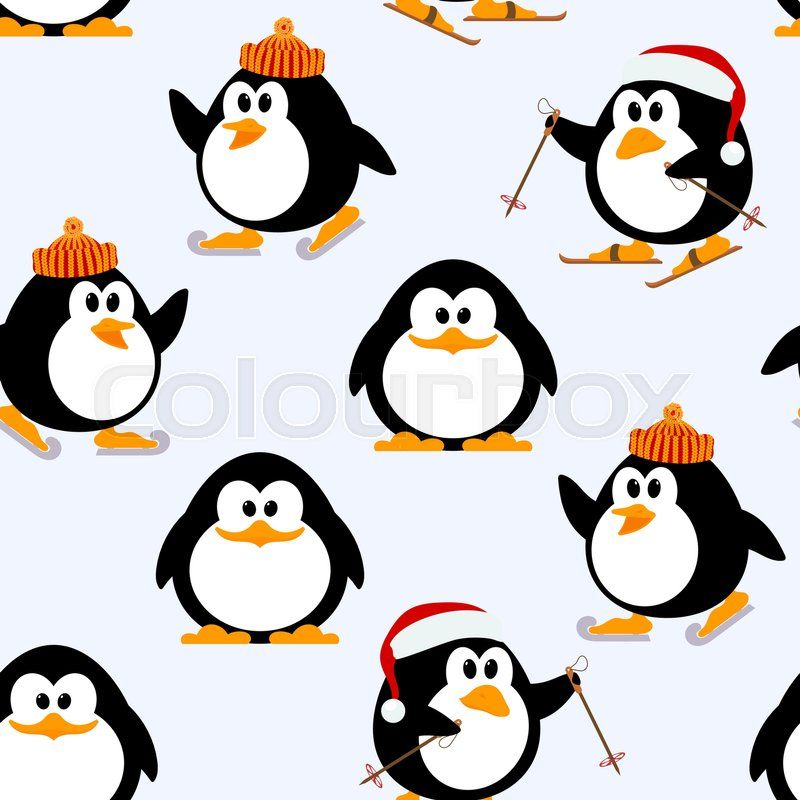 Christmas pattern. Vector graphic.