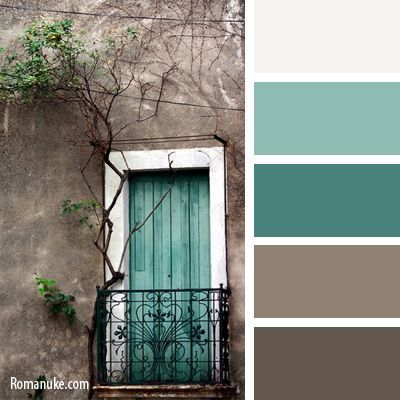 Teal brown color scheme teal decor pinterest brown - Bathroom color schemes brown and teal ...